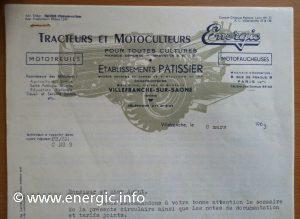 Energic letter head 1963 www.energic.info