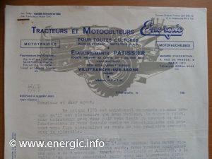 Energic letter head 1965 www.energic.info