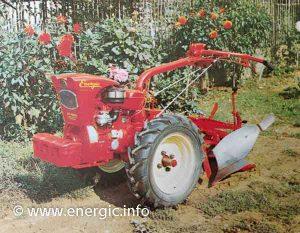 Energic Motoculteur 309 Diesel 9 cv www.energic.info