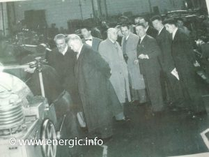 Energic Factory tour in the 1950's (photo courtesy of Karl Phul)