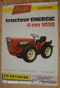 Energic 4 RM 1038 35cv tracteur 35cv Ruggerdini motor www.energic.info