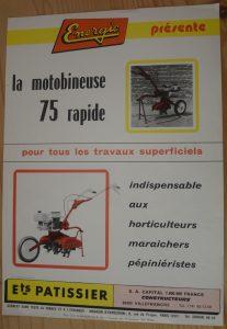 Energic Motobineuse 75 rapid www.energic.info