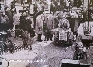"Energic 4RM 18 ""lors du Comice Agricole de Juliénas (Rhone)"" in 1962 www.energic.info"