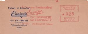 Energic postal marks/Marquages 18/07/1962 www.energic.info