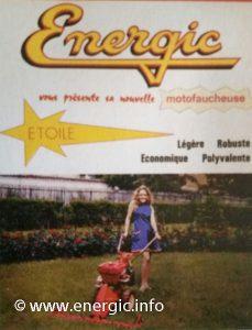 Energic Motofauchaucheuse Etoile range brochure www.energic.info