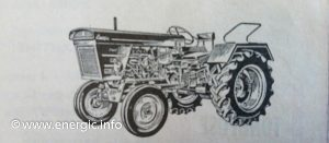 Energic Tracteur 540 old model 1962/3 www.energic.info