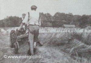Energic Motoculteur 409 cutting hay www.energic.info