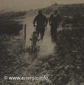Energic Motobineuse Type 75 field trials www.energic.info