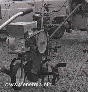 Mystery Energic L 56 Briggs & Stratton 206cc motobineuse late 1970's www.energic.info