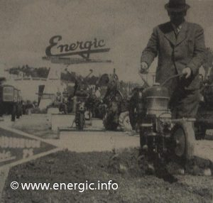 Energic agricole show 1962 with 75 MVR in foreground www.energic.info