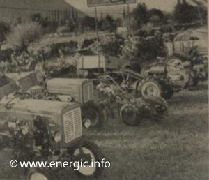 Energic stand at agricultural show October 1960 www.energic.info