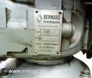 Energic Motofaucheuse moteur Bernard 239A www.energic.info