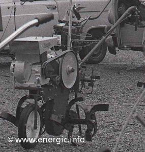 Energic Motobineuse L53/L56 with Briggs & Stratton moteur 127cc or 206cc www.energic.info