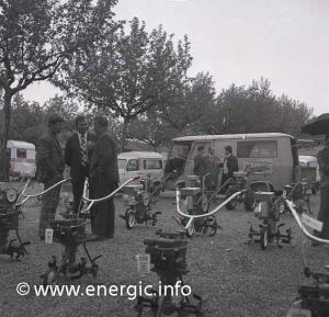 Energic stand at a agricultural fair/comice late 1970s/early 80s www.energic.info