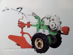 Energic Motobineuse L53/L56 with Briggs & Stratton moteur 127cc or 206cc www.energic.info