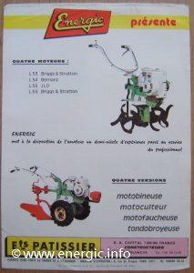 Energic L 50 motobineuse series www.energic.info