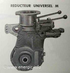Energic Motobineuse Type 100 MVL reducer universal M www.energic.info