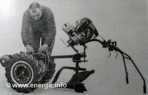 Energic Motoculteur Type 100 MM/MVL changing moteur www.energic.info
