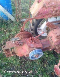 Energic 518 tracteur 22cv petrol/essence winch www.energic.info