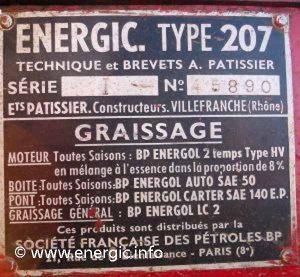 Energic 207 motoculteur 7cv www.energic.info