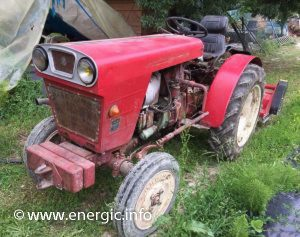 Energic vigneron 535 tractor with front and wheel weights! www.energic.info