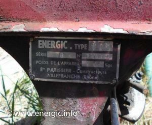 Energic type 110 plaque www.energic.info