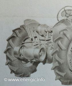Energic Tracteur 500 series 1 rear drive www.energic.info