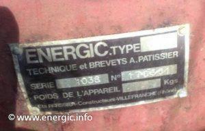 Energic 4RM 1038 Slanzi moteur plaque www.energic.info