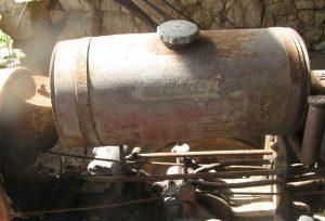 Energic 409/411 motoculteur fuel tank original condition www.energic.info