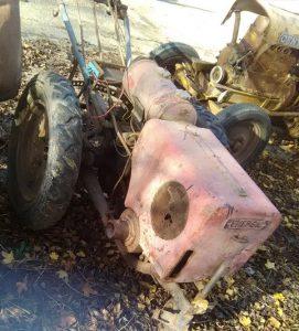 Energic motoculteur D9/C7waht is left of it! www.energic.info