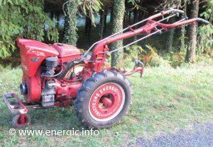 Energic motoculteur 228 8cv moteur www.energic.info