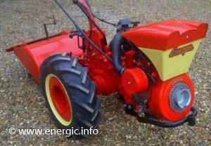 Energic motoculteur 130 motor Bernard 239a www.energic.info
