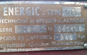 Early Energic Motoculteur  206 www.energic.info