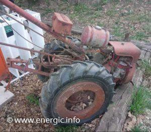 Energic 205 motoculteur moteur Bernard W 110 www.energic.info