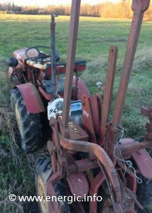 Energic 4RM 18 tractor ready for restoration www.energic.info