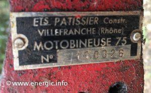 Energic motobineuse 75 www.energic.info