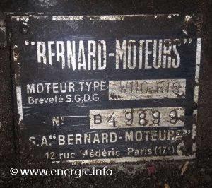 Energic Bernard motor W110 Bis www.energic.info