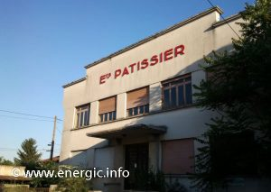 Energic factory/offices entrance at Ets Patissier in Villefranche-sur-Sâone. www.energic.info