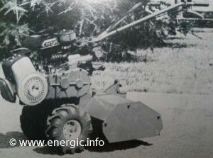 Energic motobineuse 7cv Professional www.energic.info