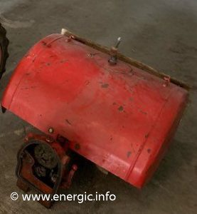 Energic 205 motoculteur attachments/rotivator. www.energic.info
