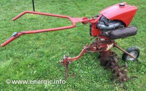 Energic Rubis ILO moteur  6cv moteur 148cm3 (type L 152). www.energic.info