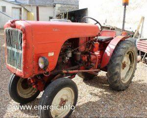 Energic 519 tracteur T.M.D. vigneron www.energic.info