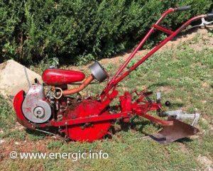 Energic 102 motoculteur Mono roue moteur VAP 48cc www,energic.info