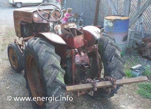 Energic 519a petrol tracteur www.energic.info