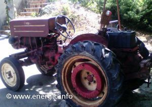 Energic tracteur 512 12cv with battery. www.energic.info