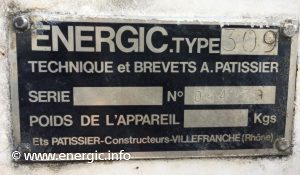 Energic Motoculteur 309 Diesel 9 cv. www.energic.info