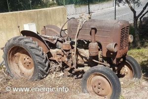 Energic 512 tractor ready to repair www.energic.info