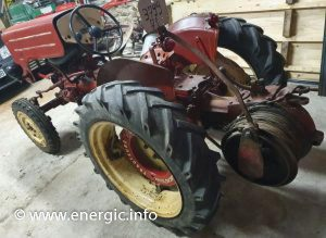 Energic tracteur 511 petrol with treuil. www.energic.info