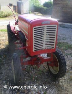 Energic tracteur 511 petrol with charrue brabant monosoc www.energic.info