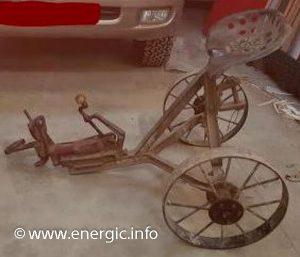 Energic sulky for motoculteur range www.energic.info
